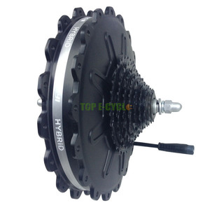 500W electric bike cassette motor