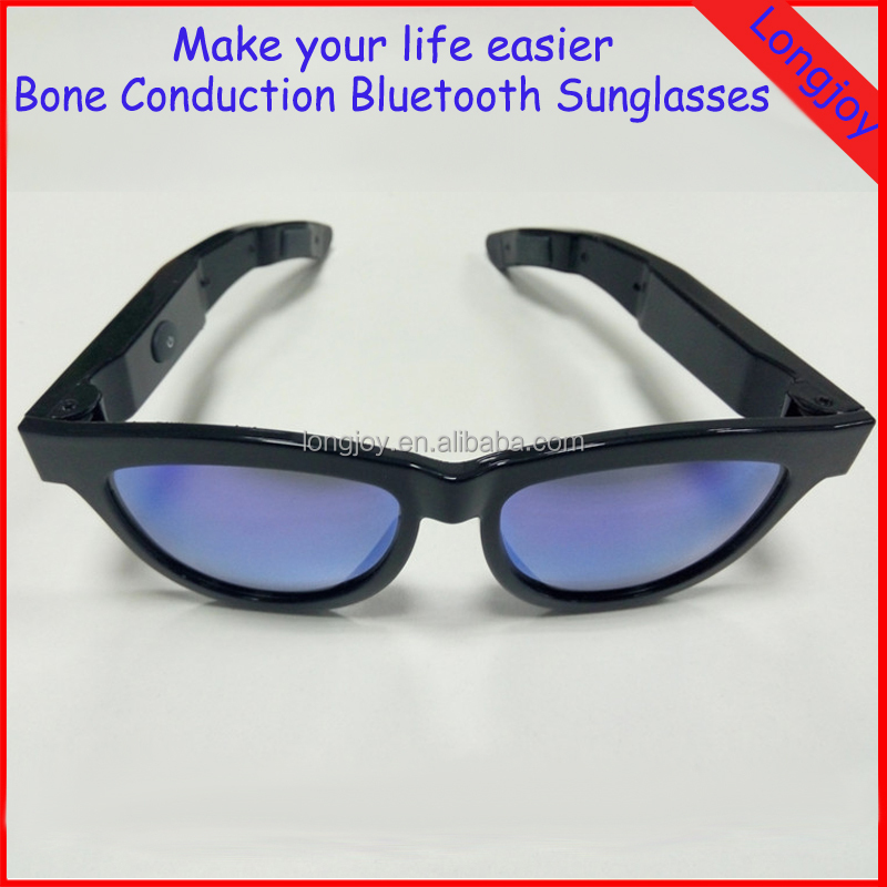 First Smart Bluetooth Anti-sleep Bone Conduction Sunglasses Bluetooth Speaker With Microphone