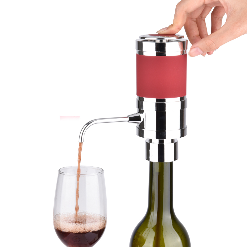 Pin di động Điện Rượu Vang Thiết Bị Thông Gió, Tự Động Chai Rượu Vang, Rượu Xách Tay Ngắt Rượu