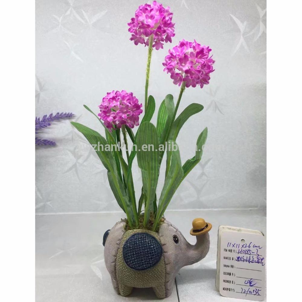 Polyresin-Elefant-Form-Blumen-Topf