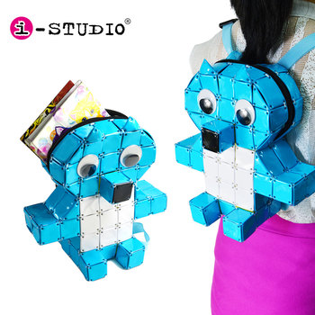 DIY Educational Toy 3D Cute Custom Cartoon Animal School Kids Backpack