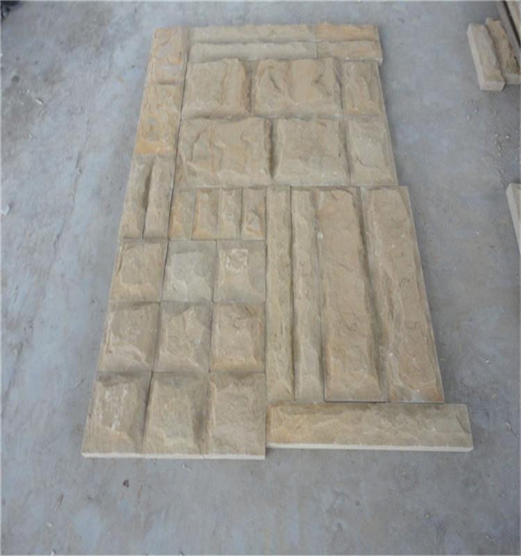 piedra arenisca amarilla de madera para suelos y paredes de piedra arenisca acera