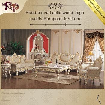 Baroque Style Furniture Italian Style Sofa Set Living Room
