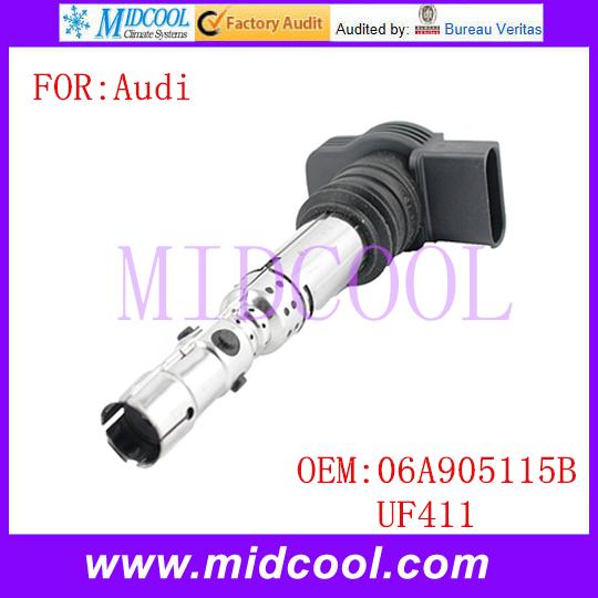 Новый катушка зажигания использования OE no. 06a905115b, Uf411 для Audi A4 A6 TT