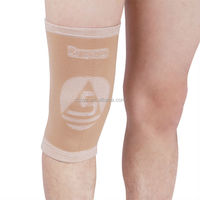 Four ways pull high elasticity knitting sports knee cap knee support for traning