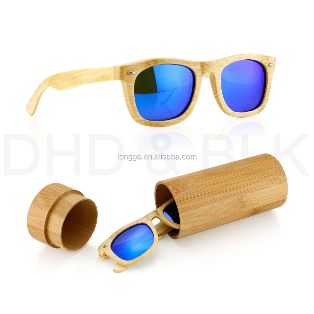Wood Sunglasses Polarized  vintage men women bamboo sunglasses polarized wooden frame glasses