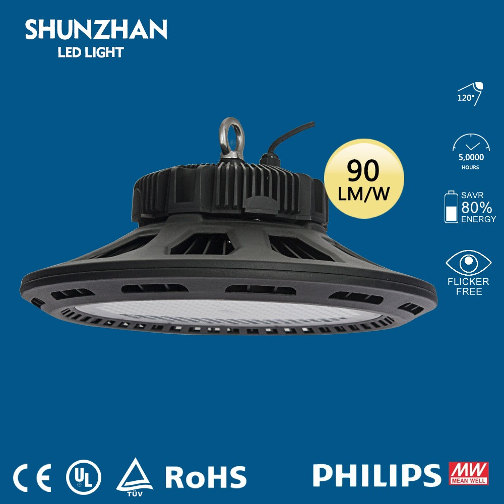 shunzhan warm white warehouse 180w led highbay lamp