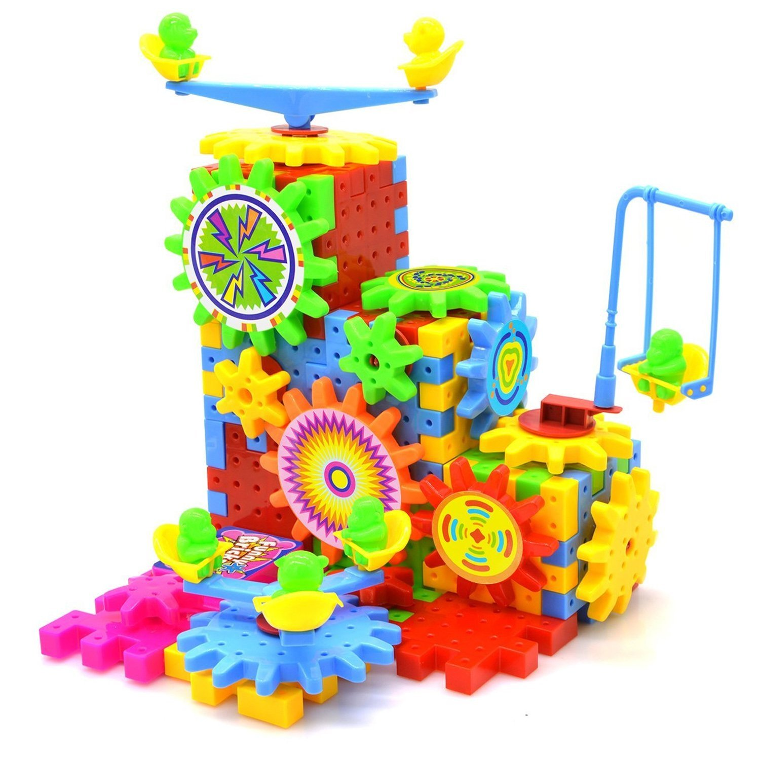 Buy Baby Building Toy, Baztoy Stacking Blocks Building Puzzles ...