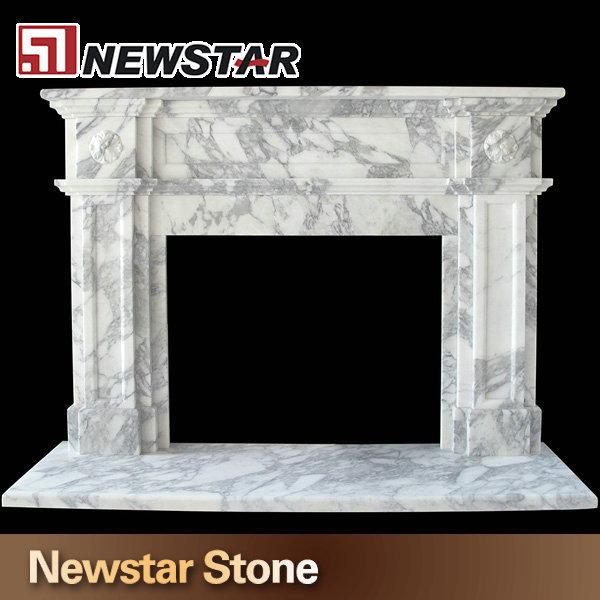 Marvelous Klassiker Kamin Kaminsimse, Weißem Marmor Kaminumrandungen Amazing Design
