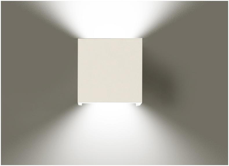 10 centimeter van LED deur en outdoor waterdichte project wandlamp ...