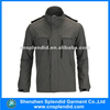 New fashion 100% nylon windproof warm quilted man jacket