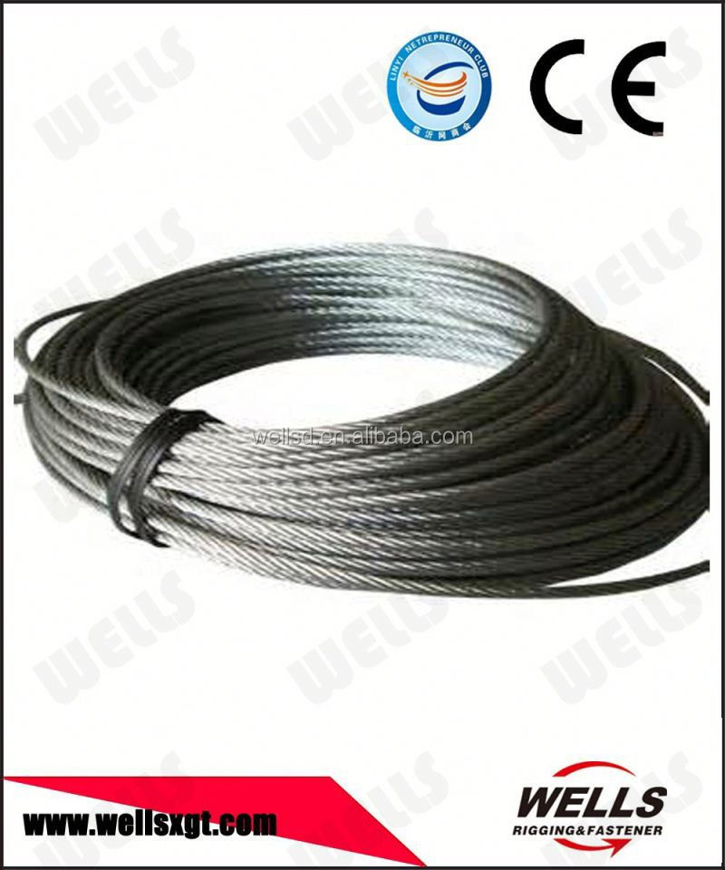 Industrial usage stainlesss cable wire 7x7