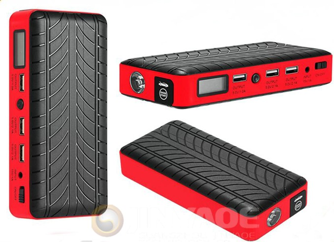 600a portable jump starter mini car booster power tool 18000mah power bank jumper starter