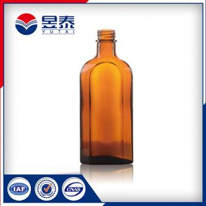 Pharma Clear Medical Amber Glass Bottle
