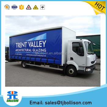 900gsm PVC Truck Curtain Trailer Lorry Factory