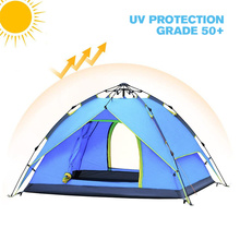 2-3 persoon Schaduw Shack Instant Pop Up Draagbare Familie <span class=keywords><strong>Camping</strong></span> <span class=keywords><strong>Tent</strong></span>