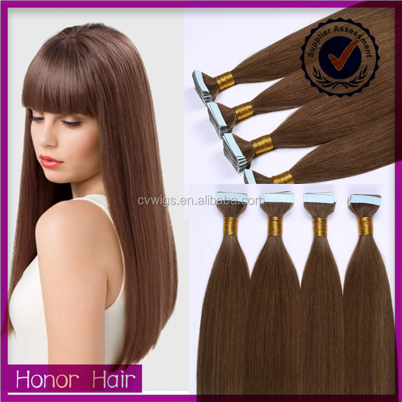 2016 new products 100% human remy virgin tape hair extensions, bohemian hair