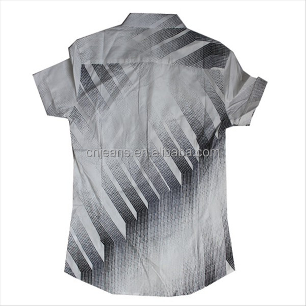 GZY 100% cotton shirts for men factory China