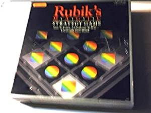 Complete SET Version of 1987 Rubik's Magic Strategy Game---easy to Learn, a Challenge to Win...created By Erno Rubik (Board Game Version)(1987 Version)