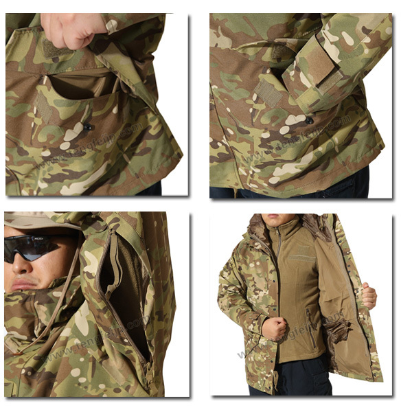 Multicam Classic Mil-Tec US M65 Jacket for Men f66b3a67de