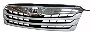 Chrome Front Grille Assembly for 2010-2012 Subaru Outback SU1200143
