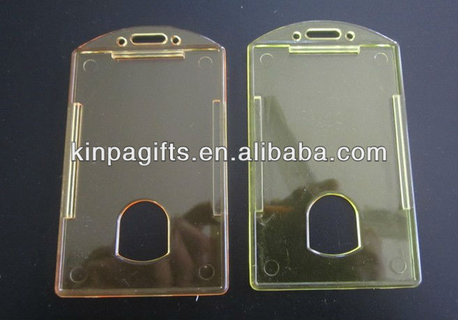 Upright PP Transparent Card Holder