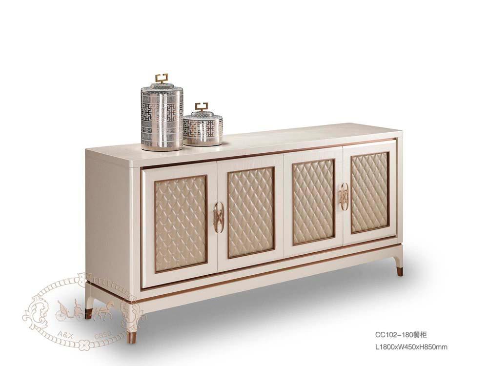 Champagne Esszimmer Modernes Sideboard Luxushotel Möbel Sideboard ...