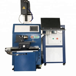 200w 300w 500w laser welder 4 axis automatic YAG spot precise laser welding machine for medical instrument
