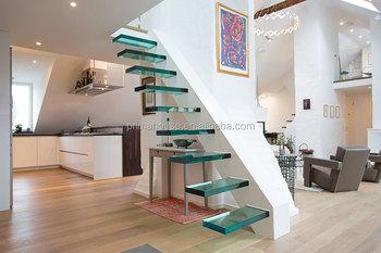 Basso costo di vetro scale interni scale di design moderno for Design basso costo