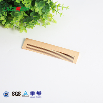bamboo wooden comb for hotel disposable use