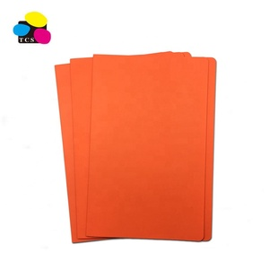 Factory direct selling A4 manila file folders two pockets hard paper file folder