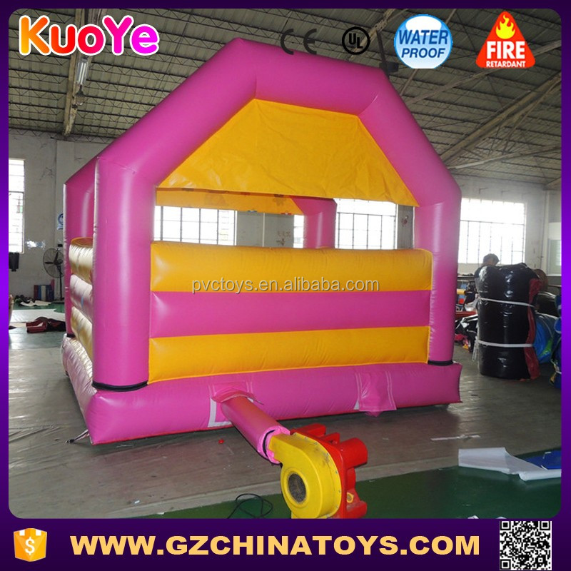 2017 wholesale price kitty inflatable hello jumping castle