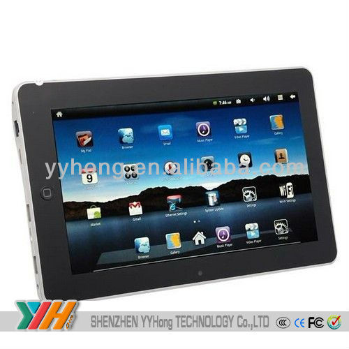 10.2inch android tablet pc Built in WiFi GPS Camera tablet pc