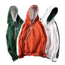 China Unisex Stickerei Zwei Ton <span class=keywords><strong>Hoodies</strong></span>