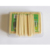 Plastic bottle personalized bamboo wooden toothpicks for sale