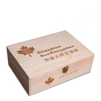 Personalized Gift Box Natural Wooden Sea Cucumber Box Buy Sea Urchin Box Birch Wood Gift Box Unfinished Wood Gift Boxes Product On Alibaba Com