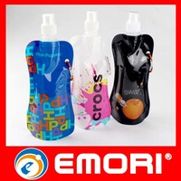 New Corporate Gift Multiple Colors Available Outdoor Sports Foldable Water Drink Bottle