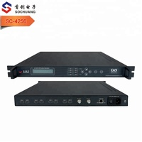 hospital coaxial rf tv hd video modulator (8*HD in,2*DVB-T out)
