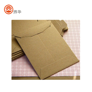 High Quality Natural Brown Kraft Paper Envelope with Customized Logo Print