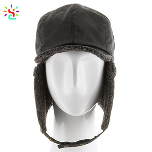 fd351eebddef36 Leather Pilot Hat, Leather Pilot Hat Suppliers and Manufacturers at  Alibaba.com