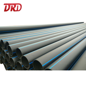 PE 100 HDPE plastic pipe irrigation pn16 pead pipe for water supply