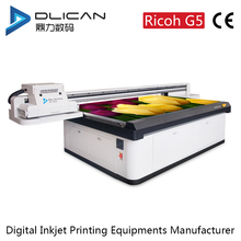 Best quality Industrial digital flatbed uv printer