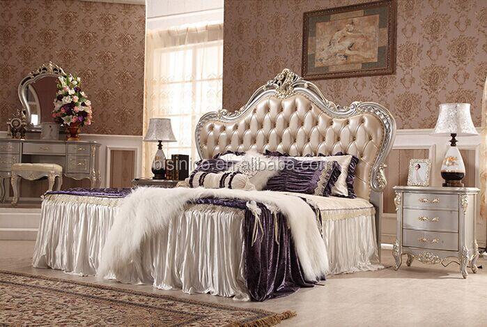 Bisini Luxury Furniture Bed, Exquisite Bedroom Furniture King Size ...