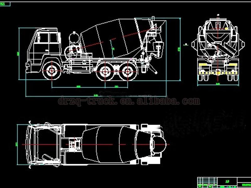 Factory Price Small Type Concrete Agitator Truck Mixers