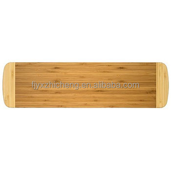Bamboo Burner Cover/Cutting Board for Viking Cooktops, New Vertical Cut, Large, Extra Long