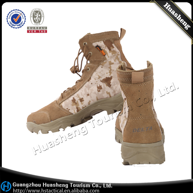 China Factory Lether Military Combat Boots Security Tactical ...