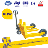 china REACH rough terrain hand pallet truck for building site