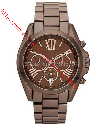 2015 Absolute luxury New mk5628 5628Unisex Watch Two Tone Silver color fashion business men watch NO.10