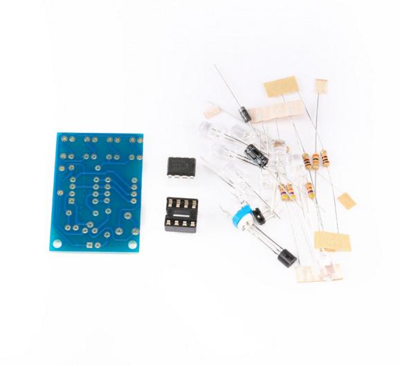 Heatsink Alukühlkörper con transistor de potencia 2 x 2N3442 TO3