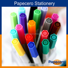 Professional Felt Tip Plastic Water Color Fineliner Pens